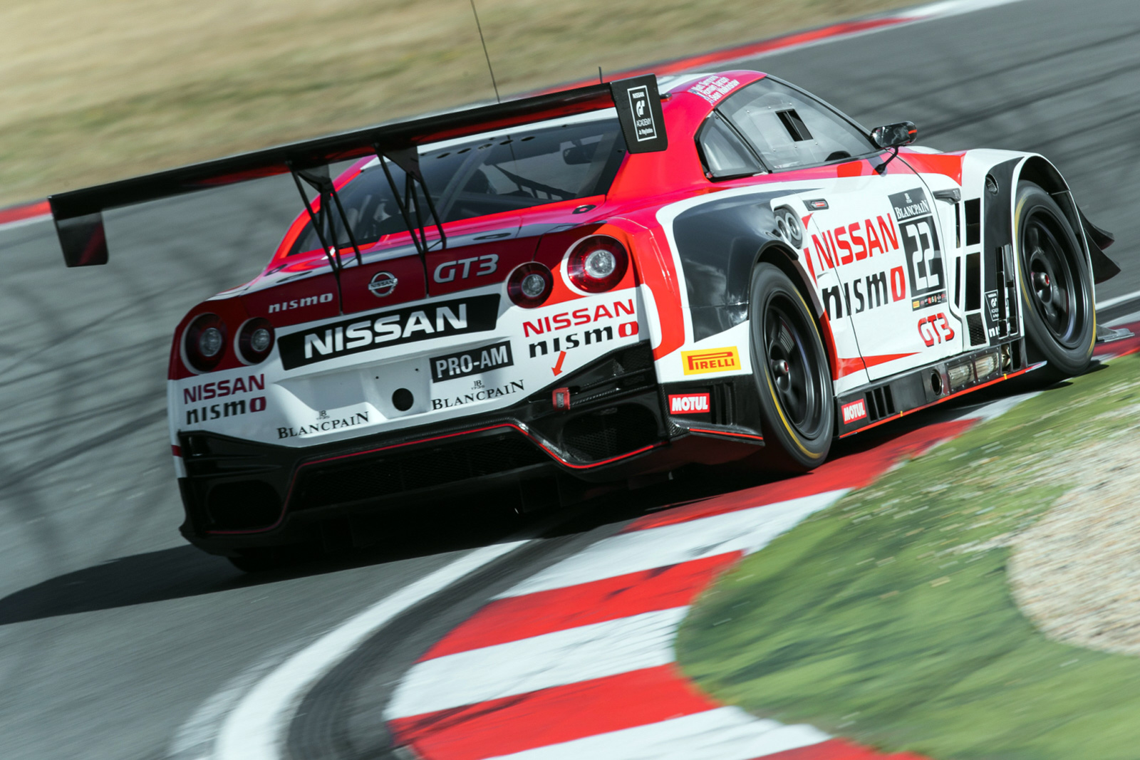 The No.22 Nissan GT-R NISMO GT3 showed good pace.