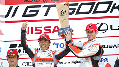 Victory for Walkinshaw at Fuji Delivers GT300 Championship Lead: Read More