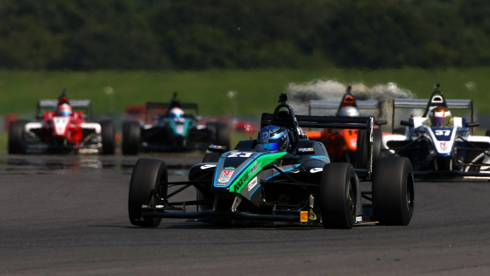 Donington Park Grand Prix Circuit in Leicestershire will host rounds 19, 20 and 21 of the BRDC F4 season.