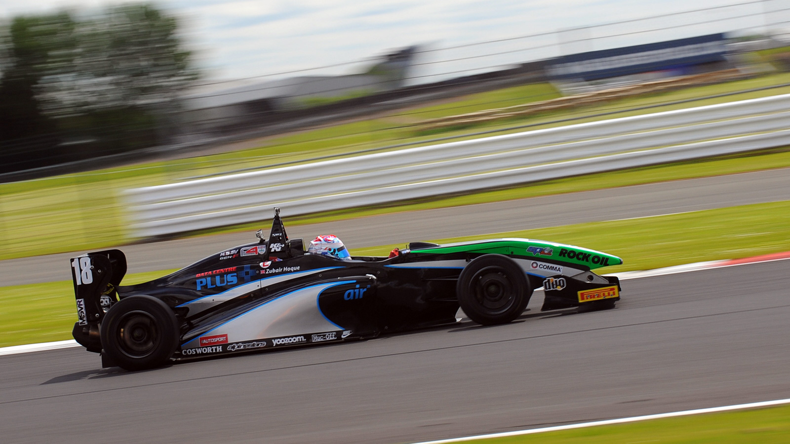 Zubair Hoque has so far enjoyed a strong campaign with his first career podium finish during round six at Rockingham.