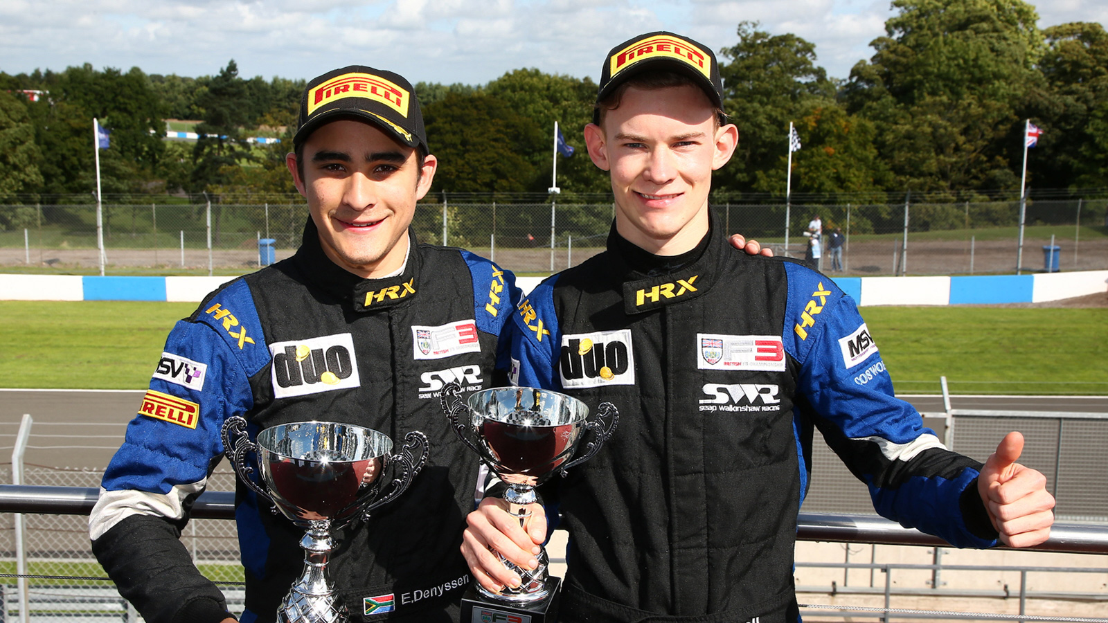 utstanding debut podiums for British F3 rookies prove SWR pace.