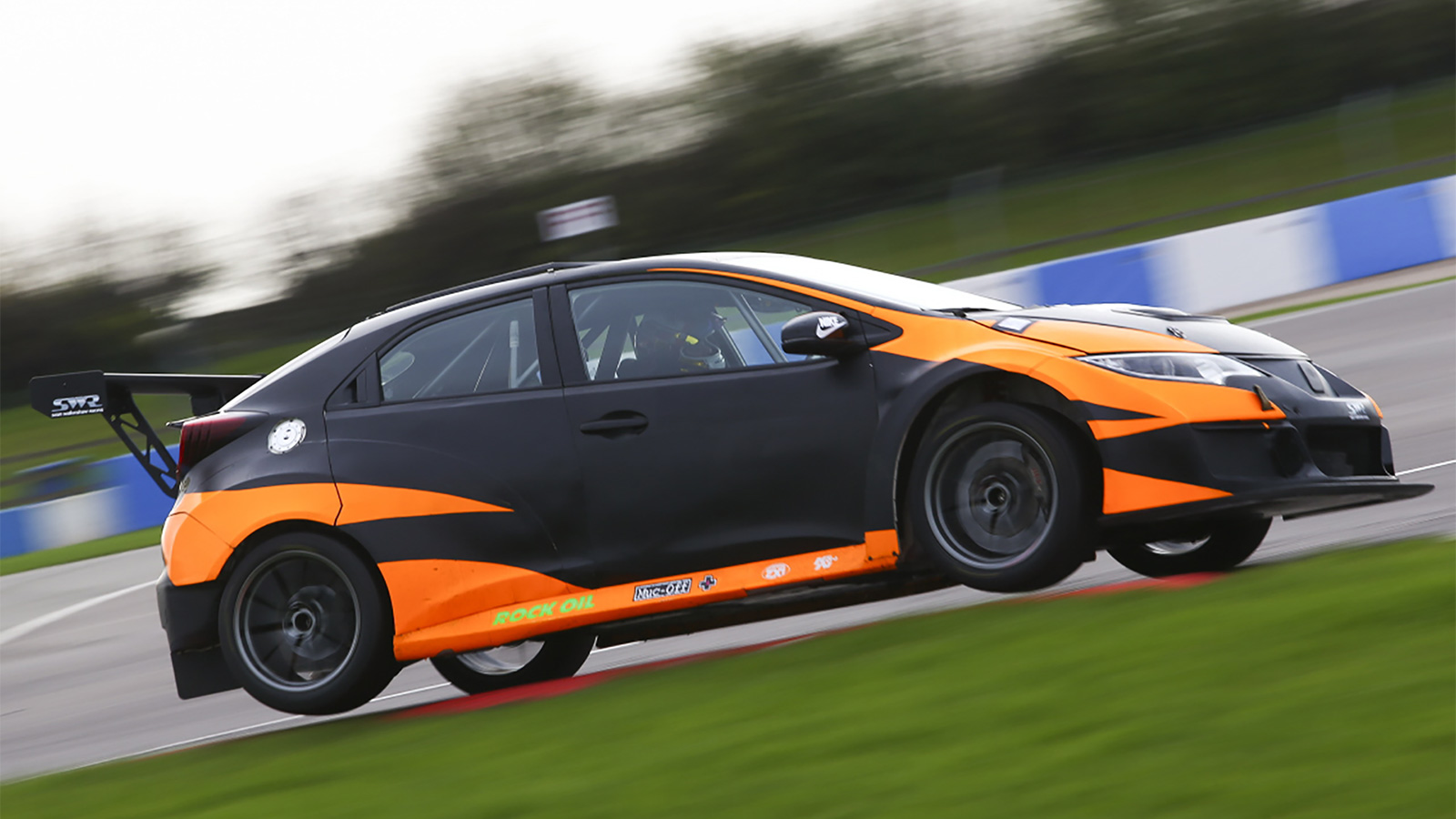 TCR UK team SWR delighted with 'impeccable' first test.