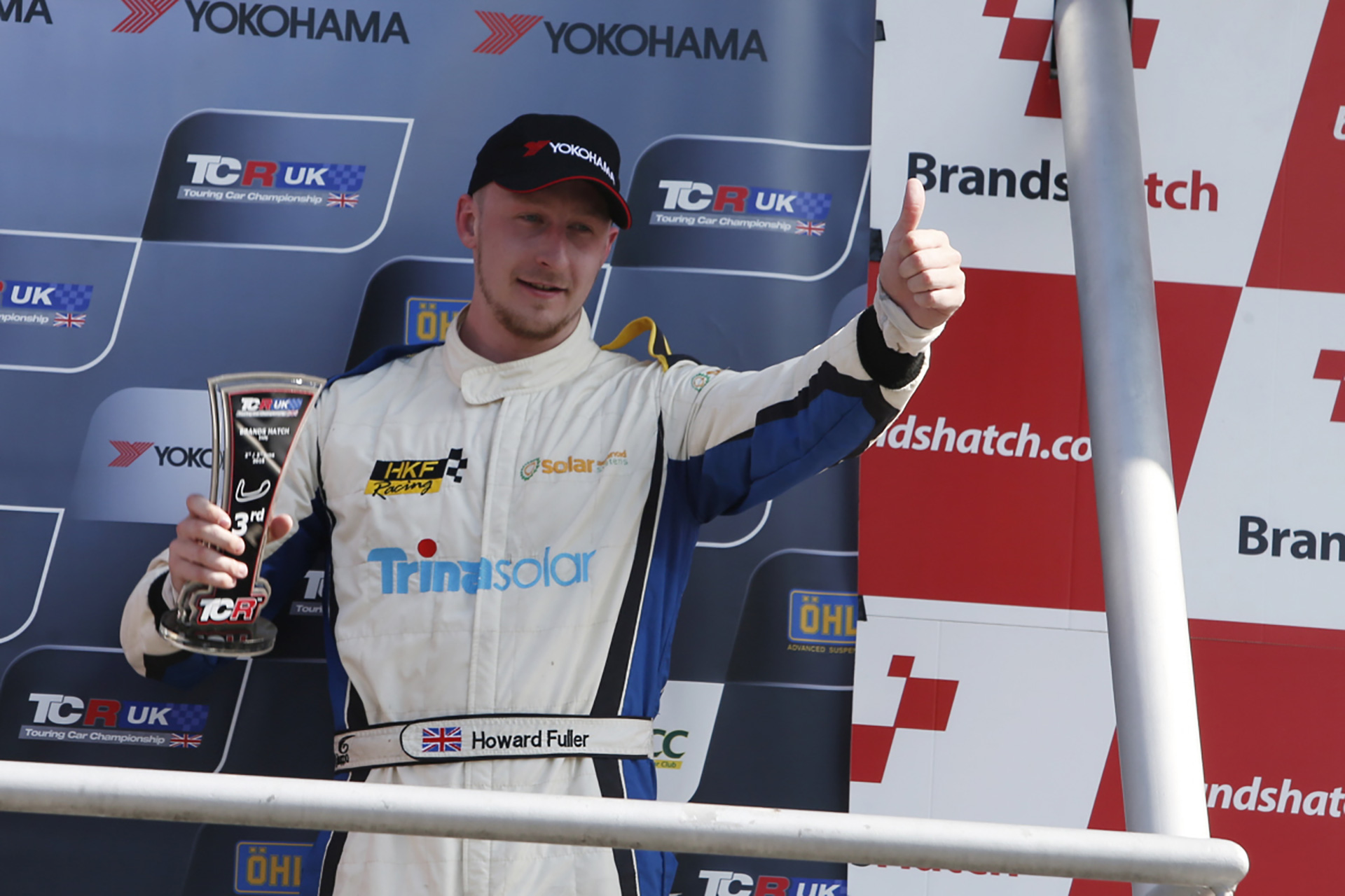 Series returnee Howard Fuller claims first TCR UK podium.