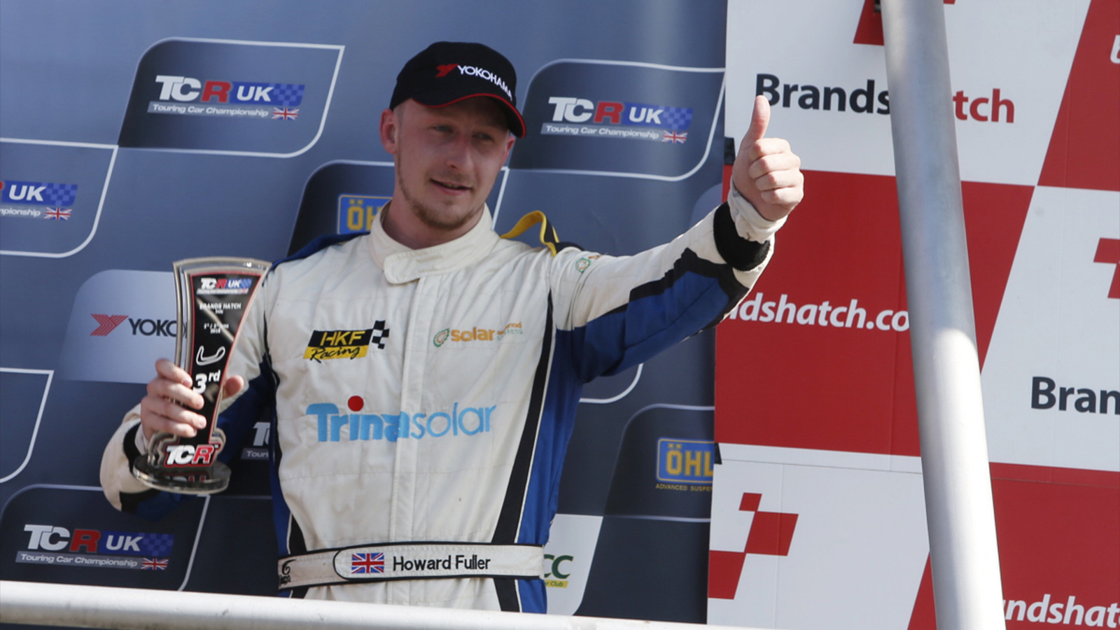 SWR Racer Fuller Stars at Brands Hatch with Maiden TCR UK Podium
