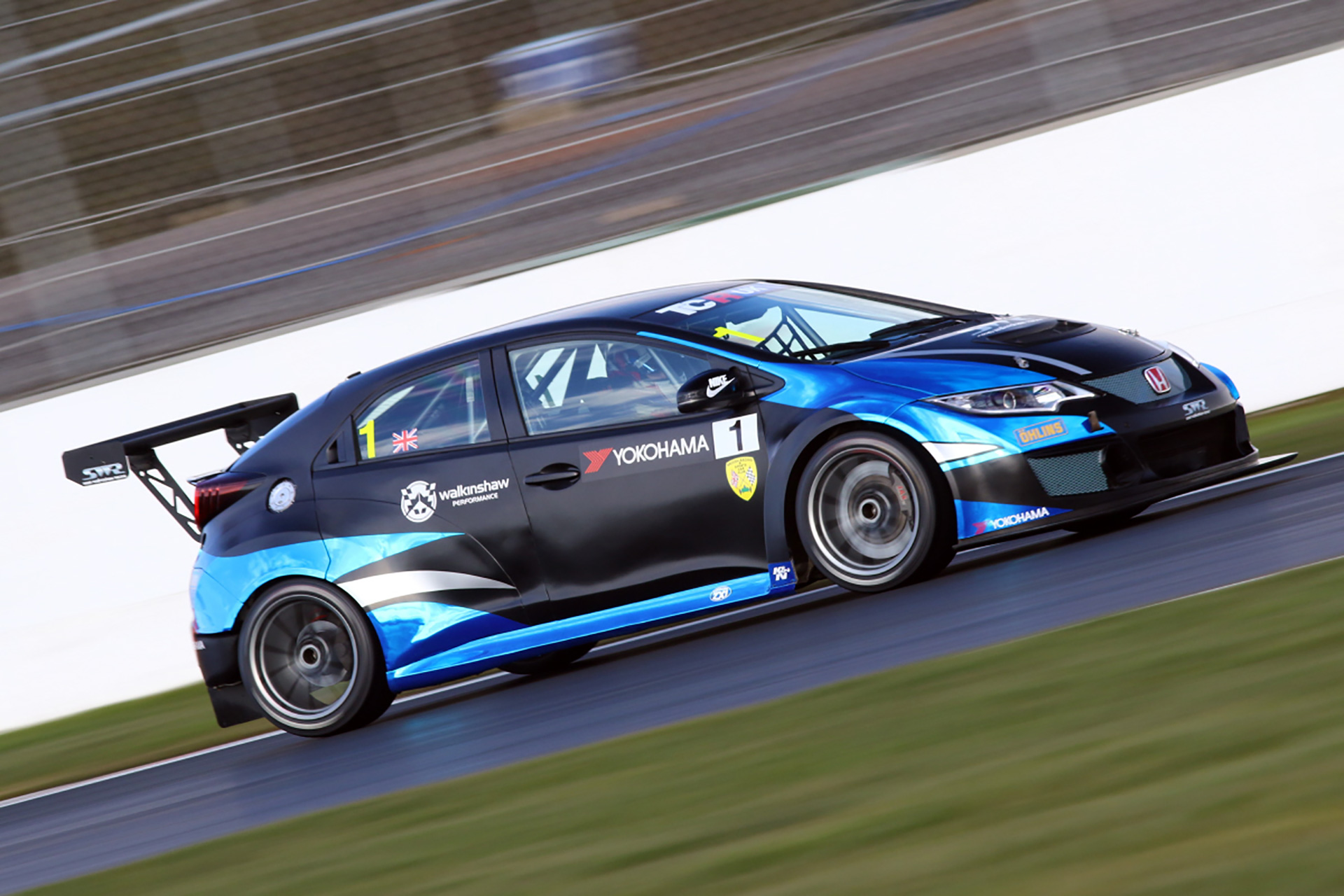 Rock Oil branding to appear on SWR's Honda Civic Type-R in TCR UK.